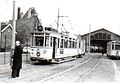 Tramstel lijn 11 Hollands Spoor Den Haag 14-02-1965.jpg