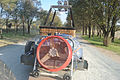 Transporting components of a hot air balloon 1.JPG
