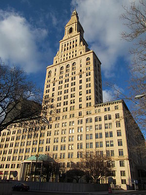 The Travelers Companies - Travelers Tower in Hartford, Connecticut