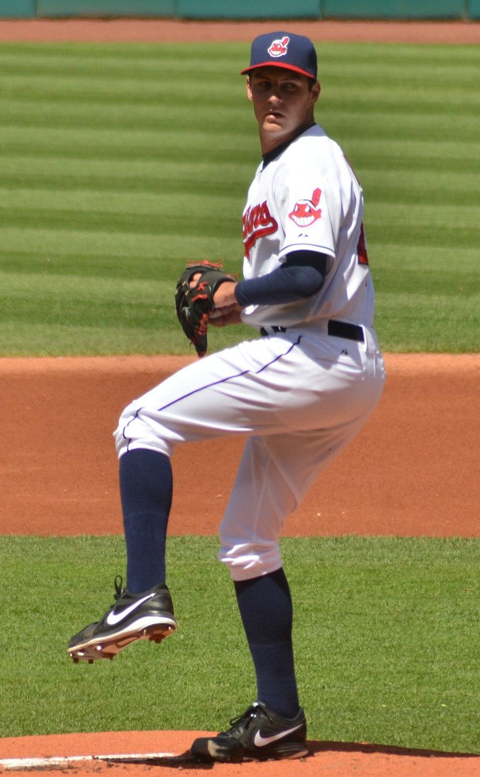 Trevor Bauer on May 13, 2013