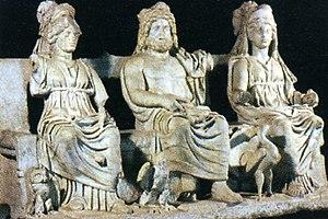 Capitoline Triad - Capitoline Triad – Museum of Palestrina