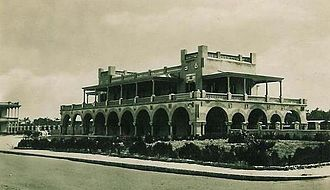 Railway stations in Libya - Tripoli Railway Station in 1940