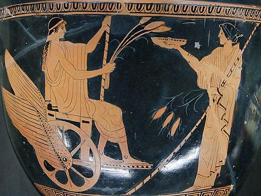 Triptolemus Yale Louvre G368