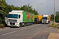 Trucks at South Mimms - geograph.org.uk - 1383224.jpg