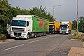 Trucks at South Mimms - geograph.org.uk - 1383224.jpg