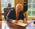 Trump signing Executive Order 13780 (cropped).jpg