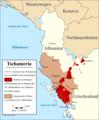 Tschameria in Albanien und Griechenland.png