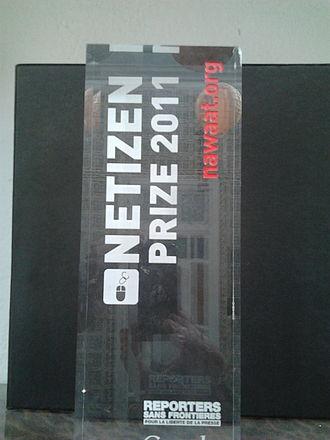Reporters Without Borders - RWB 2011 Netizen Prize