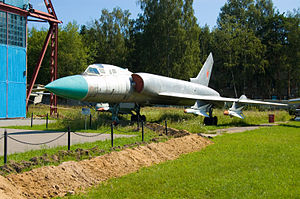 Tupolev Tu-28 - Tu-128 at the Central Air Force Museum at Monino, Russia