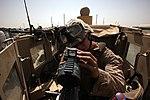 Turret gunners of Combat Logistics Battalion 7 keep convoy safe 140714-M-JD595-0110.jpg