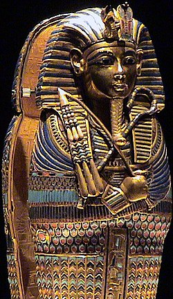 Tutankhamun coffinette