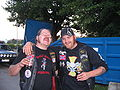 Two genuine raggare at Power Big Meet 2005.jpg