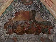 Tyniec - Klasztor - Kapitularz - Fresk 04.jpg