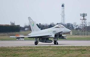 English: Typhoon, RAF Coningsby