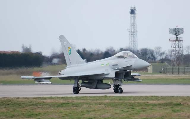 Typhoon, RAF Coningsby - geograph.org.uk - 737223