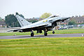Typhoon Jet Lands at RAF Northolt for Olympics Security Exercise MOD 45153949.jpg