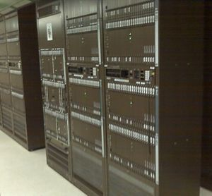 DMS-100 - Typical Northern Telecom DMS-100 Telephone Central Office Installation