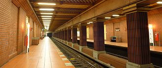 Zitadelle (Berlin U-Bahn) - Platform view