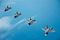 U.S. Air Force F-35A Lightning II aircraft assigned to the 58th Fighter Squadron, 33rd Fighter Wing fly in formation over the northwest coast of Florida May 16, 2013 130516-F-XL333-615.jpg