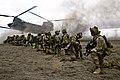 U.S. Army Rangers, assigned to 2nd Battalion, 75th Ranger Regiment, prepare for extraction on Fort Hunter Liggett, California, Jan. 30, 2014.jpg