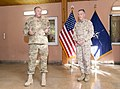U.S. Marine Corps Gen. Joseph F. Dunford Jr., right, the outgoing commander of the International Security Assistance Force and U.S. Forces-Afghanistan, listens as Supreme Allied Commander Europe U.S. Air Force 140826-D-HU462-368.jpg