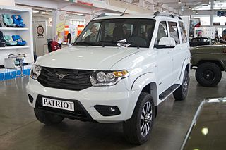 mid-size SUV from the UAZ division of SeverstalAvto