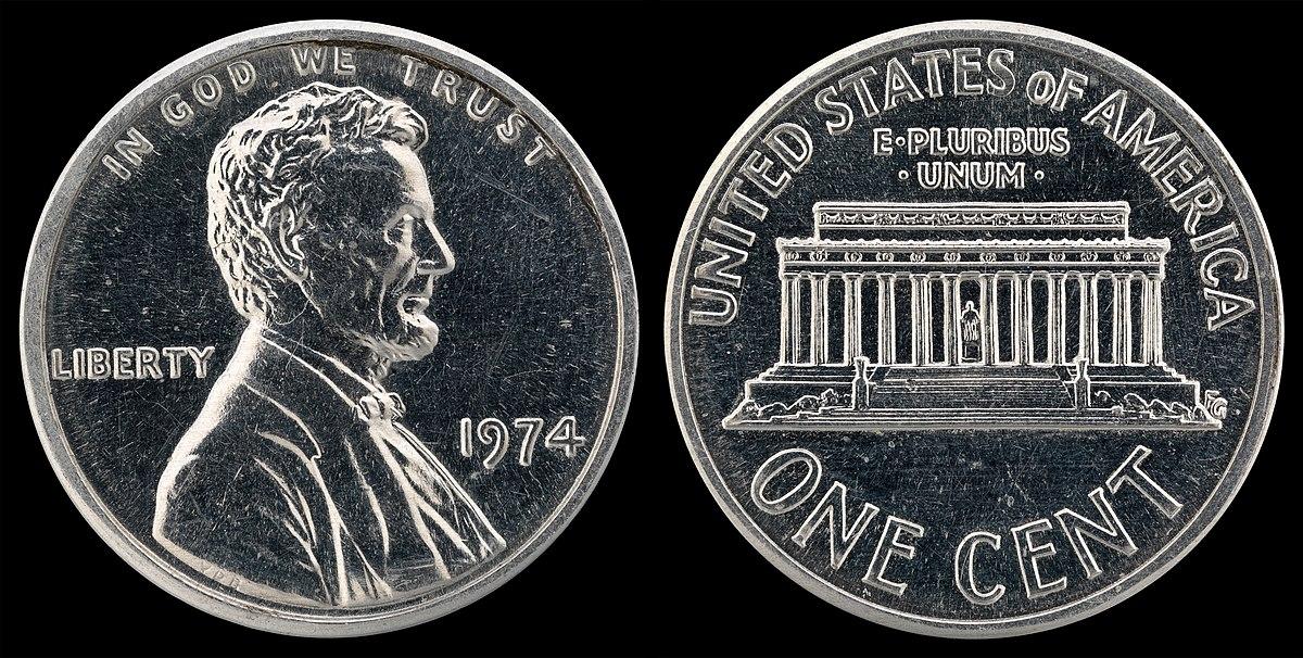 1974 Aluminum Cent Wikipedia