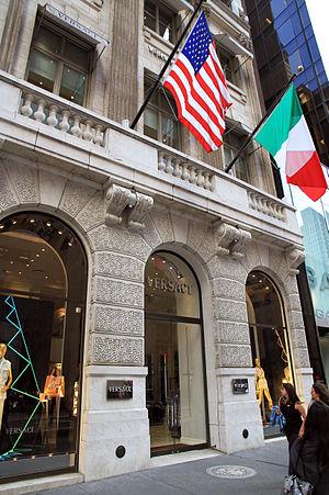 Versace - 5th Avenue, NYC, 2013