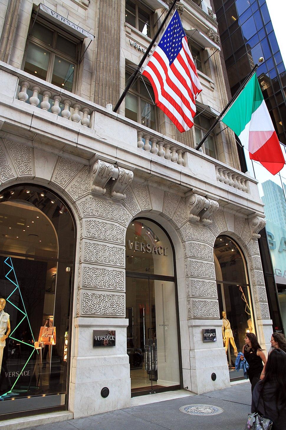 USA-NYC-Versace 5th Avenue1