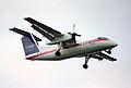 USAir Express DHC-8 Dash8; N827EX@BWI;24.07.1995 (5024510894).jpg
