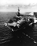 USS Forrestal (CVA-59) underway in March 1956.jpg