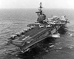 USS Franklin D. Roosevelt (CVA-42) underway in 1971 (NNAM.1996.488.062.023).jpg