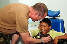 USS Kearsarge medical team treat patients at Arima District Health Facility DVIDS126489.jpg