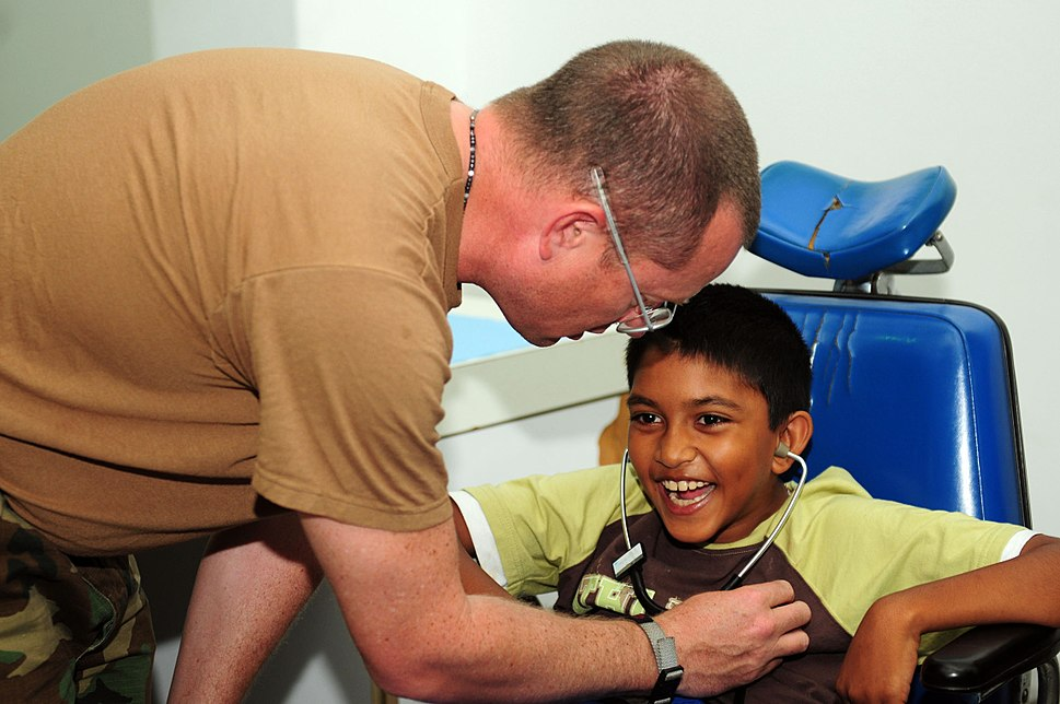 USS Kearsarge medical team treat patients at Arima District Health Facility DVIDS126489