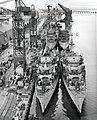USS Lake (DE-301), USS Lyman (DE-302), USS Crowley (DE-303) and USS Rall (DE-304) fitting out at the Mare Island Naval Shipyard on 10 January 1944 (19-N-86023).jpg