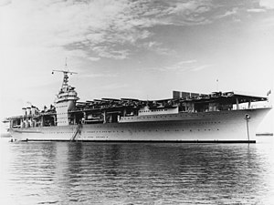 USS Ranger (CV-4) anchored in Guantanamo Bay on 10 November 1939.jpg