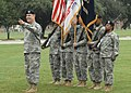 US Army 51629 Maj. Gen. Yingling acknowledges college friends.jpg