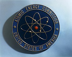 Shield of the U.S. Atomic Energy Commission.
