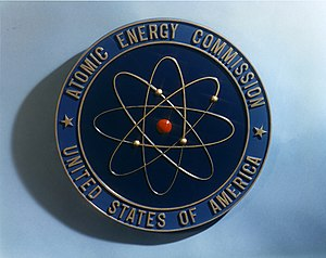 Rutherford model - Shield of the U.S. Atomic Energy Commission