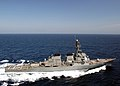 US Navy 030329-N-6141B-005 The guided missile destroyer USS Arleigh Burke (DDG 51) conducts underway operations in support of Operation Iraqi Freedom.jpg