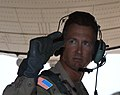 US Navy 050618-N-3904I-026 Battalion Commander, 1st Battalion, 10th Special Forces Group (Airborne), U.S. Army Lt. Col. John Eaddy, warns jumpers.jpg