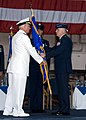US Navy 071130-N-8623G-152 Adm. Timothy J. Keating, commander, U.S. Pacific Command, transfers the Pacific Air Forces flag to Gen. Carrol H.jpg