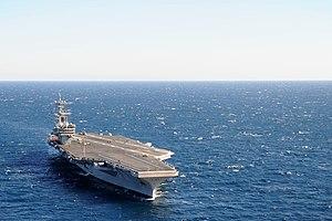 US Navy 120131-N-YM590-250 USS George H.W. Bush is underway in the Atlantic Ocean.jpg