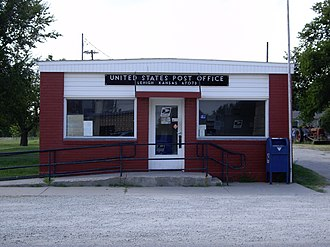 Lehigh, Kansas - Lehigh US Post Office (2010)