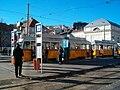 UV tram at 'Deák Ferenc tér' stop. - Budapest District V. - HPIM0614.jpg