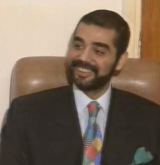 Uday Hussein son of Iraqi dictator Saddam Hussein
