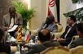 Ugandan Ambassador to Iran Mohammad Ahmad Kissule met mayor of Mashhad Mohammad Pezhman 2.jpg