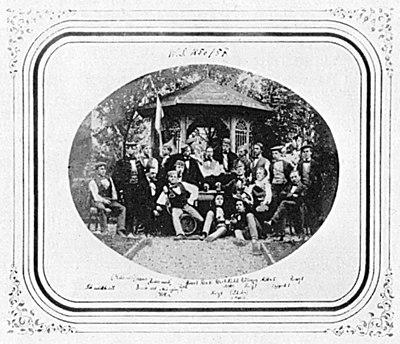 Unbekannter Fotograf Die Landsmannschaft Schottland im SS 1857 Salzpapierabzug.jpg