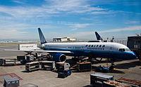 United Airlines Boeing 757-200 N564UA San Francisco International Airport.jpg