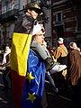 United Belgium Brussels demonstration 20071118 DMisson 00083 rue Froissart European flag.jpg